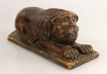 19th C. Folk Art Lion