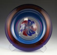 DKL Studio Art Glass Bowl