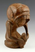 Vintage Polynesian Carved Figure