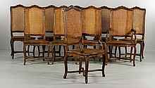 8 French Chairs
