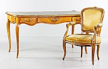 French Writing Desk and Chair