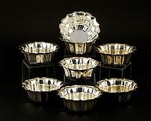 8 Silver Finger Bowls