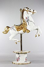 Hand-Painted Carousel Horse