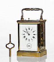 Asprey Brass Carriage Clock