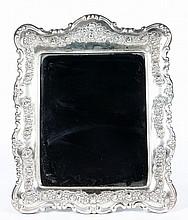 Sterling Framed Mirror
