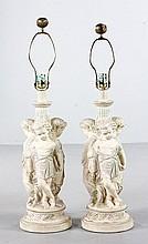 Pair of Renaissance Style Lamps