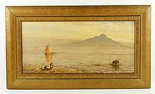 Elwell, View of Mount Vesuvius, O/C