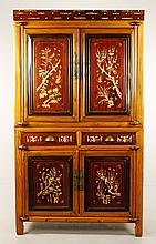 19th C. Chinese Inlaid Cabinet