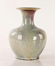 19th C. Chinese Crackleware Vase