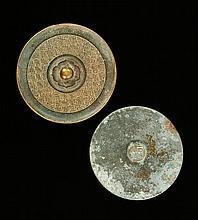 Two Chinese Bronze Mirrors