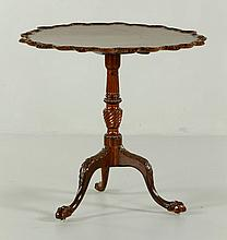 Early Irish Chippendale Table