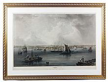 Mottram, Boston Harbor, Engraving