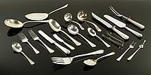 Durgin Co. Sterling Fairfax Pattern Flatware