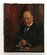 Phillips, Henry Mosler Portrait, O/C