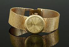 Men's 14K Gold Baume & Mercier Watch
