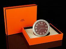 Hermes Paris Travel Clock