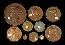 Lot of 10 European Medals