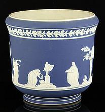 Adams Jasperware Flower Pot