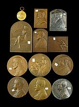 Lot of 12 C. Devreese Medals