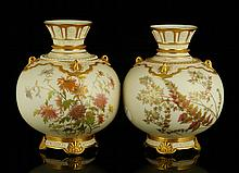 2 Pc. Royal Worcester