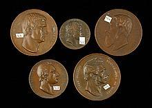 Lot of 5 C. Jehotte Medals