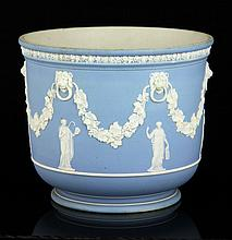 Wedgwood Jasperware Flower Pot