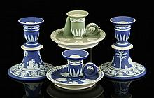 4 Wedgwood Candlesticks