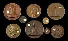 Lot of 9 Assorted Medals