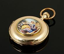 French Gold Pocket Watch