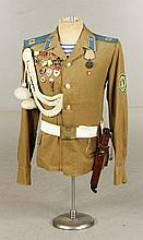 Russian Officer's Uniform with Medals