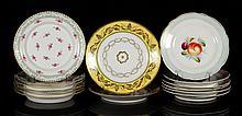 Lot of 14 KPM Porcelain Plates