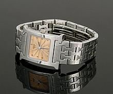 Hermes Heure H Watch, Rose Gold and Sterling Silver