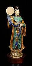 19th C. Chinese Terracotta Guanyin