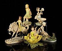 Lot of 5 Fairy Figures