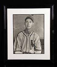 Burke, Ted Williams, Photograph and Autograph