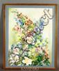 Floral Still Life, W/C