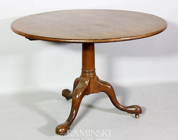 18th C. Boston Tea Table
