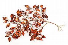 Jere, Tree-Form, Brass/Copper