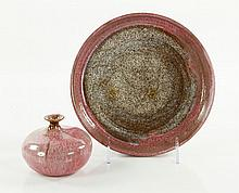 Lot of 2 Beatrice Wood Earthenware Ceramics
