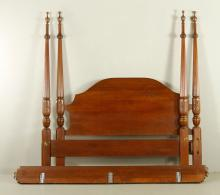Federal Style Four Poster Bed