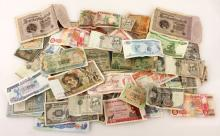 Large Lot of World Paper Currency