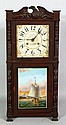19th C. Joseph A. Wells Shelf Clock