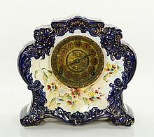 Gilbert Flow Blue China Clock