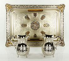 Silver Plate Presentation Objects