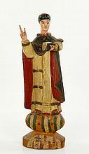 18th C. Carved Santos Figure