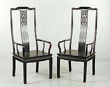 Two Chinese Chairs