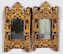 Pair of Chinese 19th C. Mirrors