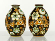Pr. Dutch Ceramic Vases