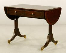 Regency Drop Leaf Sofa Table