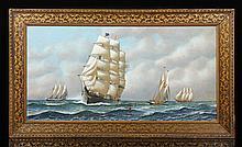 Jacobsen, Full Clipper Ship, Oil